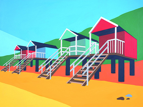 Wells Beach Huts internet piccy